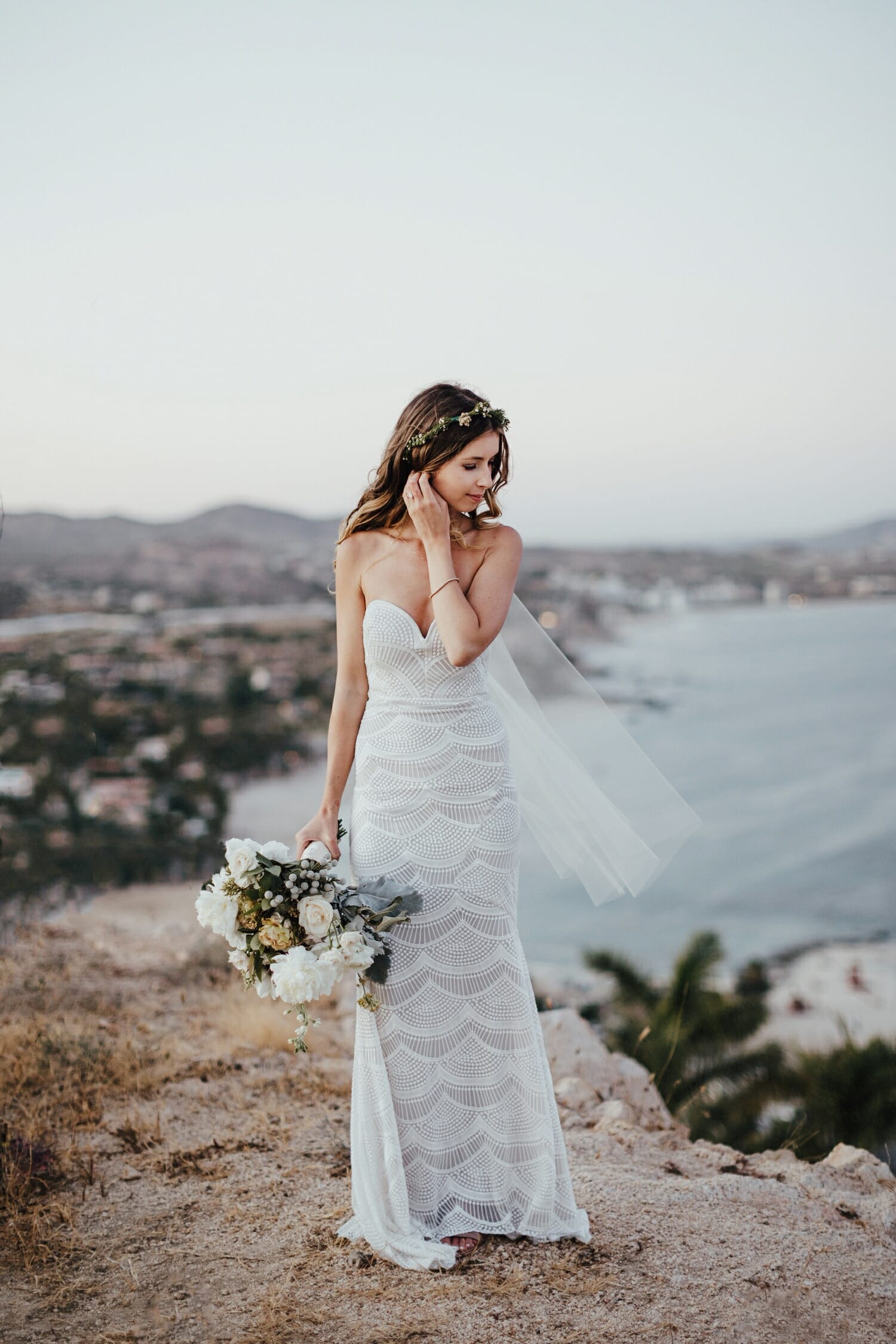 Cabo San Lucas Clifftop Wedding, Destination Wedding Photographer