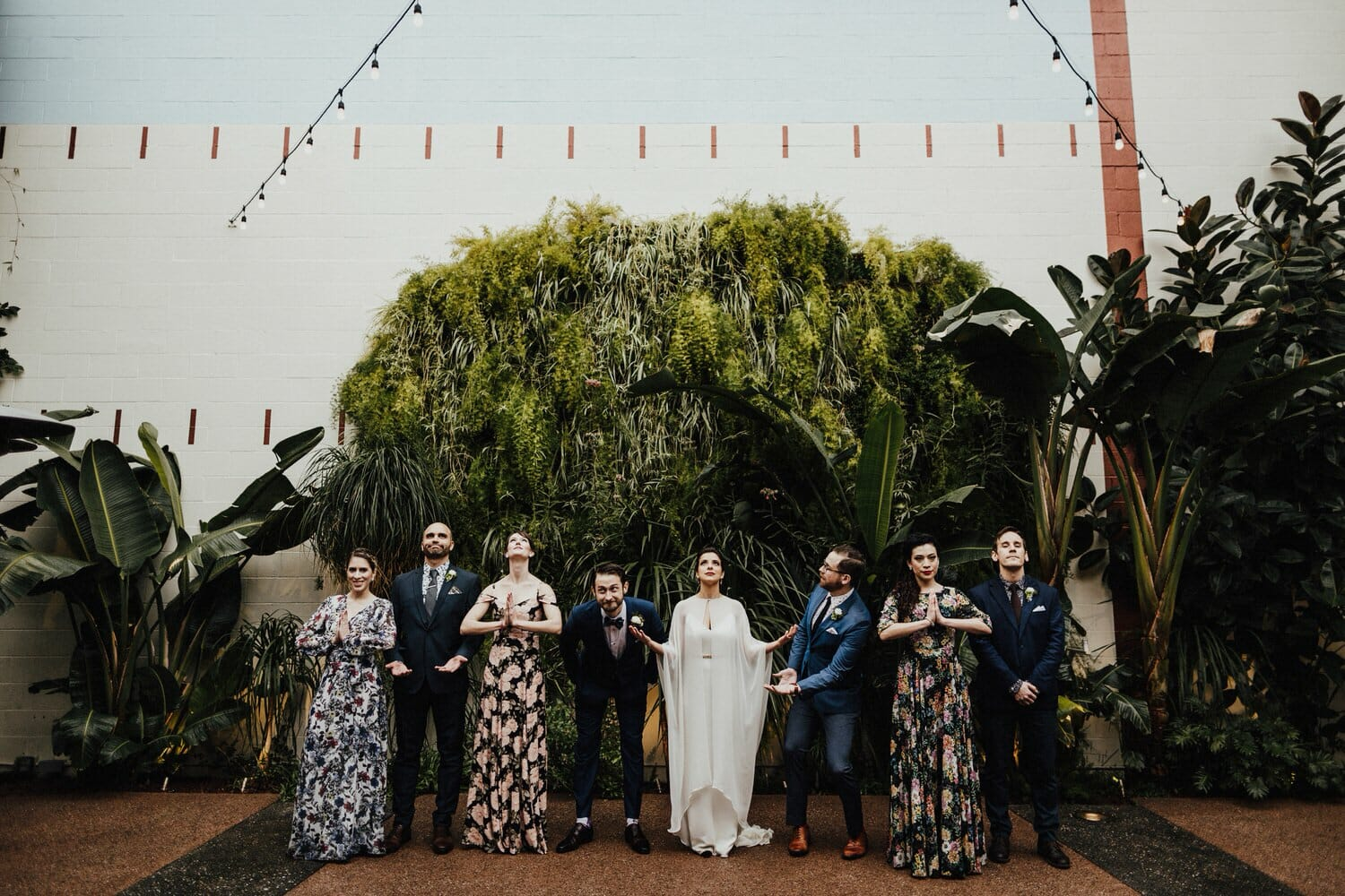Industrial Downtown Los Angeles Destination Wedding Photographer